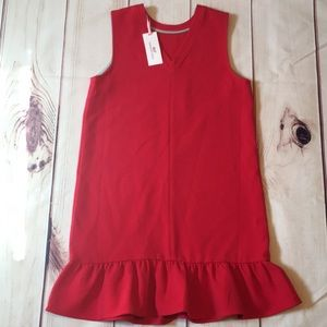 New Vineyard Vines Dress Size XL red party dress